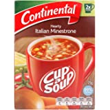 CONTINENTAL Cup-A-Soup | Italian Minestrone, 2 pack, 75g
