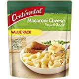 CONTINENTAL Pasta & Sauce (Value/Family Pack) | Macaroni Cheese, 170g
