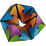 Euclidean Cube Fidget Toys for Adults Colorful Kaleidocycle Desk Gadgets for Men Sensory Toys for Boys and Girls Age 3 and up