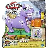 Play-Doh - Animal Crew - Naybelle Show Pony Farm Animal Playset - Farm Yard Toy - inc 4 tubs of Non-Toxic modelling dough - K
