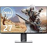 Dell 27インチ ゲーミングモニター/2K解像度/IPS非光沢 U2719DC (広視野角/フレームレス/WQHD/ブルーライト軽減/フリッカーフリー/Type-c対応/USBハブ/DP,HDMI/高さ調整/回転) PS4/PS5/Switch/