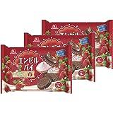 森永 エンゼルパイ 苺 (8個入り) まとめ買い×3個セット 期間限定 チョコレートパイ