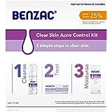 Benzac Clear Skin Acne Kit, 450g