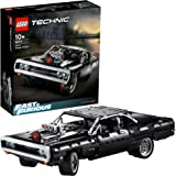 LEGO Technic Fast and Furious Dom's Dodge Charger 42111 Race Car Building Set, New 2020