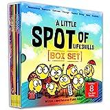 A Little SPOT of Life Skills 8 Book Box Set (Books 17-24: Courage, Perseverance, Teamwork, Talent, Thankful, Optimism, Creati
