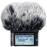 DR40 Furry Windscreen Fits Tascam DR-40 DR40 Mic Recorders, DR40 Outdoor Mic Dead Cat Fur Windshield by SUNMON