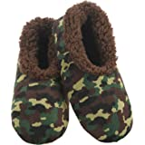 Slumbies! Camo Mens Slippers - Soft Slippers for Men - Indoor House Slippers for Men - Comfortable Mens House Slippers