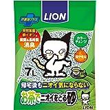 ライオン (LION) お茶でニオイをとる砂 猫砂 紙タイプ 7L 7L