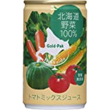 ゴールドパック 北海道野菜 100% 160g ×20本