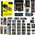 KEYESTUDIO 37 Sensors in 1 Box Starter Kit for BBC Micro bit with Tutorial (Without Microbit Board), Microbit Sensor Kit Acce
