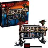 LEGO 75810 Stranger Things The Upside Down World Construction Set Contains Will's House and 8 Minifigures
