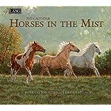 Horses in the Mist 2022 Wall Calendar