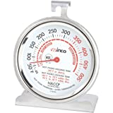 Winco B001B4KUPY 3-Inch Dial Oven Thermometer with Hook and Panel Base, 1