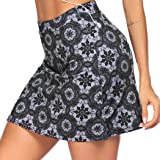 COOrun Womens Skorts Tennis Skirts with Shorts Pockets Running Golf Workout Sports Athletic Skirts