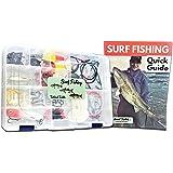 Tailored Tackle Saltwater Surf Fishing Kit 82 Pc Tackle Box with Tackle Included | Surf Fishing Rigs & Saltwater Fishing Lure