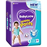 BabyLove Premium Nappy Pants, Size 4 (9-14kg), 112 Nappies (2x 56 pack)