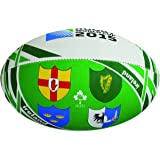Gilbert 2015 Rugby World Cup Ireland Flag Rugby Ball, 5