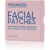 Frownies - 144 Facial Patches for Wrinkles on the Corner of Eyes & Mouth (CEM)