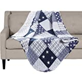 """SLPR Americana Pride Printed Quilted Throw Blanket (50"""" x 60"""") 