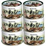 富永 いわし 煮つけ 缶詰 140g ×6個 [ 国内加工 化学調味料不使用 DHA EPA 含有]
