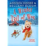 A Winter Tail of Woe: Cozy Mystery (Country Cottage Mysteries Book 14)