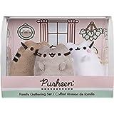 GUND Pusheen Family Gathering Collector Set of 3 Plush Stuffed Animal Cats