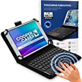 "Cooper Touchpad Executive [Multi-Touch Mouse Keyboard] case for 7-8"" Tablets 