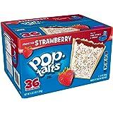 Kellogg's Pop-Tarts, Frosted Strawberry (36 ct.) ケロッグ ポップ タルト フロステッド ストロベリー [並行輸入品]