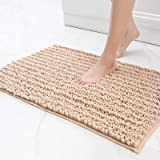 Color&Geometry Original Luxury Chenille Bath Rug Mat, 24x59 Shaggy Rugs, Soft and Absorbent, Machine Wash Dry, Non-Slip Carpe