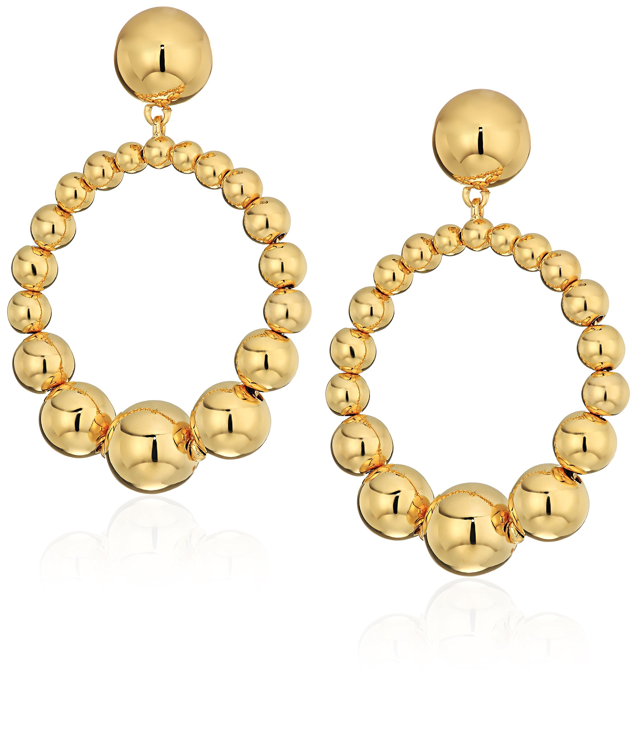 kate spade new york Light Up The Room Hoop Drop Earrings