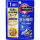 メディファス キャットフード スープ1歳から しらす・かつお節入り 40gx12 (まとめ買い)