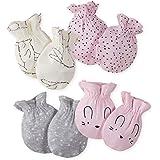Gerber baby-girls 4-pair Mittens