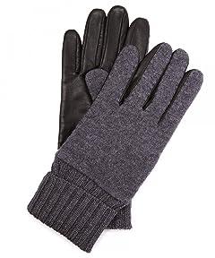 Sheep Leather Wool Glove 1437-699-1045: Grey