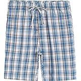 Latuza Men's Cotton Lounge Pajama Sleep Shorts with Pockets