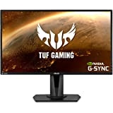 "Asus TUF Gaming VG27AQ 27"" Monitor, 1440P WQHD (2560 x 1440), IPS, 165Hz (Supports 144Hz), G-SYNC Compatible, 1ms, Extreme Lo"