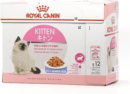 ロイヤルカナン キトン ゼリー (猫専用ウェットフード 子猫用)85g×12個