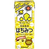 キッコーマン 豆乳飲料はちみつ 200ml ×18本