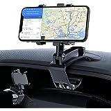 車載ホルダー GESMA スマホホルダー 360度回転 スマホ車載ホルダー クリップ式 車 携帯ホルダー スマホスタンド iphone 車載ホルダー 自由調節 カーマウント 着脱簡単 取り付け簡単 iPhone/Android/Huawei/Sony