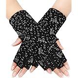 Sunblock Fingerless Gloves Summer Driving Gloves UV Protecting Gloves for Women