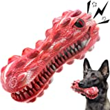 Dog Toys for Aggressive Chewers Large Breed, Squeaky Dog Toys for Medium Large Dogs, 100% Natural Rubber