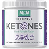 MCM Nutrition Exogenous Ketones Supplement & Bhb - Boosts Energy - Ketone Drink For Ketosis - Instant Keto Mix, Puts You Into