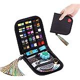 裁縫セット ソーイングセット WEIFEI 裁縫道具セット 手縫い糸 24種類カラー鮮やかな縫い糸 刺繍/手芸/裁縫 家…
