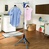 Honey-Can-Do DRY-02118 Tripod Folding Drying Rack, 64-Inch Tall