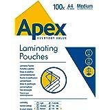 Apex Pouches for Laminator, A4, 100 Pieces