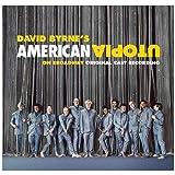 Suuyar デヴィッドバーンアルバムカバーアメリカンユートピアオンブロードウェイ(オリジナルキャストレコーディング)キャンバスポスターとプリントウォールアートベッドルーム-24X24インチX1フレームレス