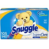 Snuggle SuperCare Fabric Softener Dryer Sheets, Lilies and Linen, 70 Count
