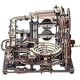 ROKR 立体パズル 立体ウッドパズル 木製パズル 3Dパズル 手回しマーブルパルクール トラック2.5m ストレス解消 大人向け 誕生日プレゼント おもちゃ