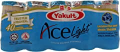 Yakult Ace Light Cultured Milk Drink, 80ml (Pack of 5) - Chilled