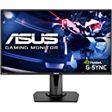 ASUS VG278QR 27 Inch FHD (1920 x 1080) Esports Gaming Monitor, 0.5 ms, Up to 165 Hz, DP, HDMI, DVI, FreeSync, Low Blue Light,
