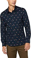French Connection Men's Fox Head L/S Custom FIT Shirt